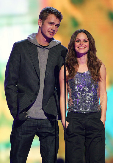 Rachel Bilson with Hayden Christensen