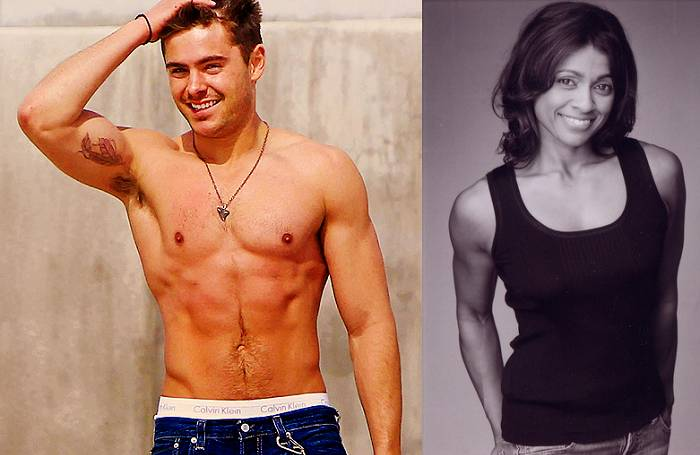 Zac Efron and his personal trainer, Ramona Braganza