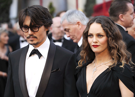 Johnny Depp with Vanessa Paradis
