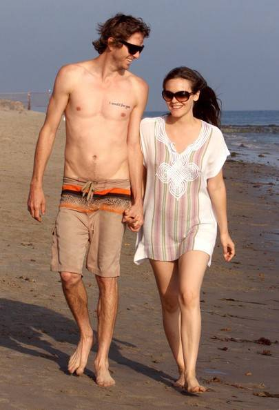 Alicia Silverstone with Christopher Jarecki
