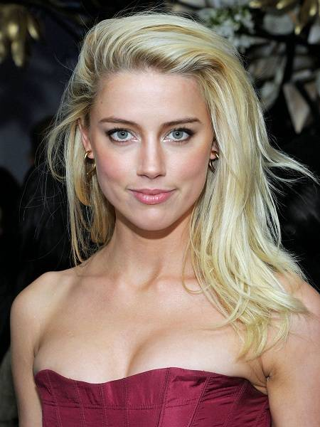 Amber Heard Face Closeup