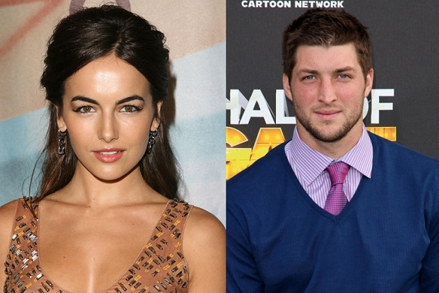 Camilla Belle and Tim Tebow