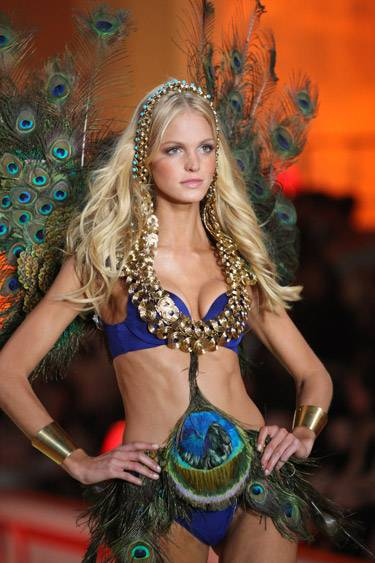 Erin Heatherton at Victoria's Secret Fashion Show