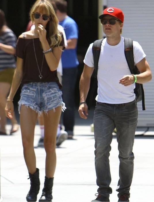 Josh Hutcherson and Lanchen Mihalic