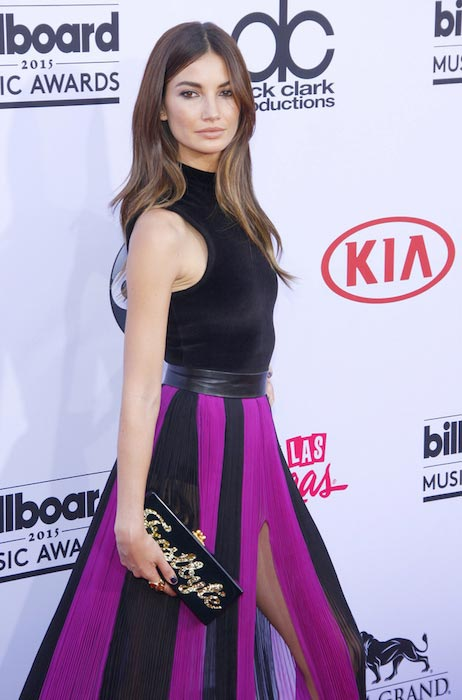 Lily Aldridge at 2015 Billboard Music Awards