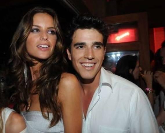 Izabel Goulart and Marcelo Costa