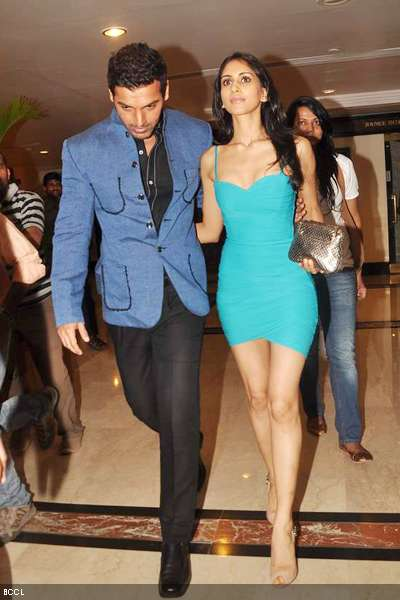 John Abraham with girlfriend Priya Runchal