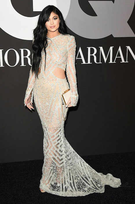 Kylie Jenner at Grammy Awards 2015 After Party.