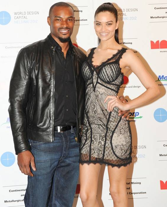 Shanina Shaik and Tyson Beckford