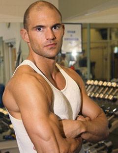 Justin Falahi Leighton Meester's Trainer