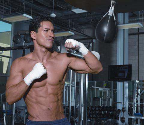 Mario Lopez Boxing