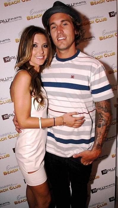 Audrina Patridge with boyfriend Corey Bohan