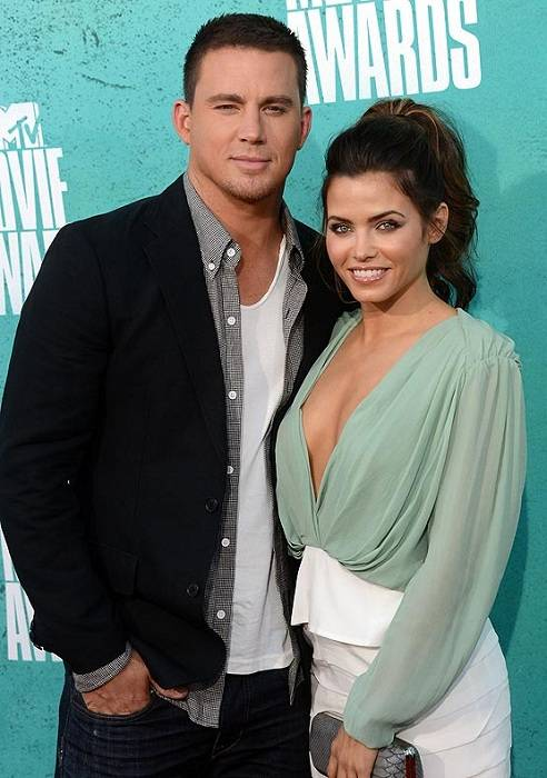 Channing Tatum with wife Jenna Dewan