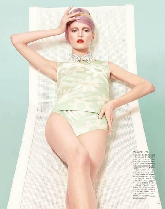 Daria Strokous Vogue Nippon