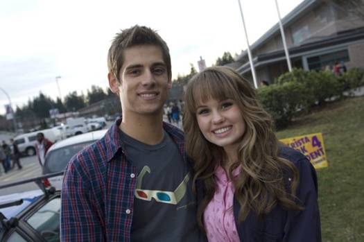 Debby Ryan with boyfriend Jean Luc Bilodeau