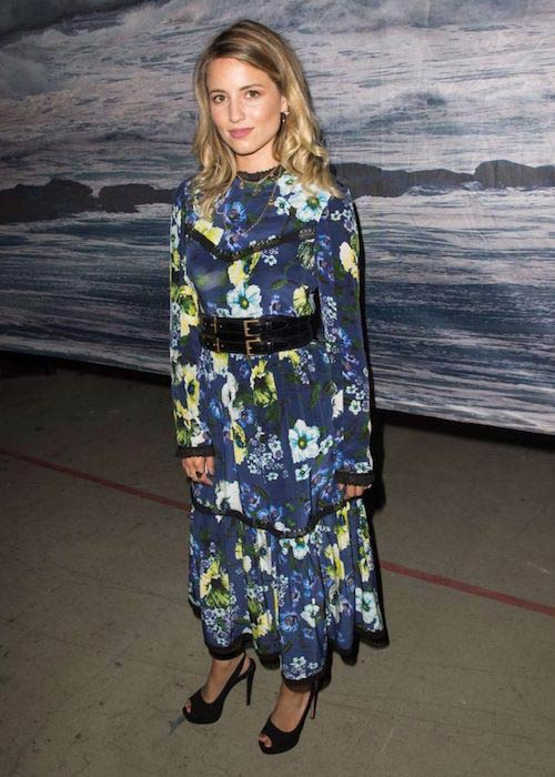 Dianna Agron at Erdem Fashion Show 2016 in London