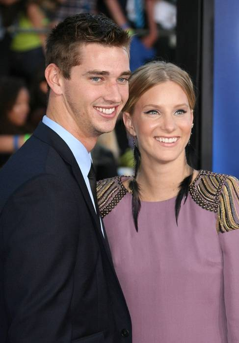 Heather Morris with Taylor Hubbell