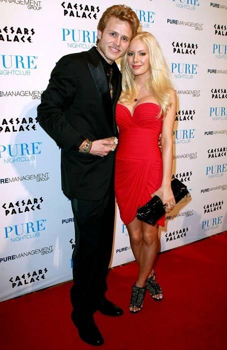 Heidi Montag with Spencer Pratt