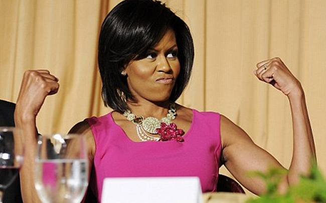 Michelle Obama Arms Workout