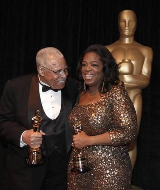 Oprah Winfrey getting award