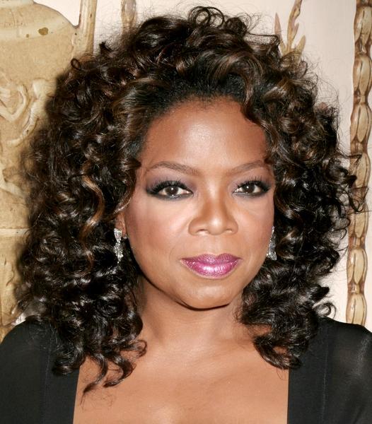 Oprah Winfrey Face Closeup