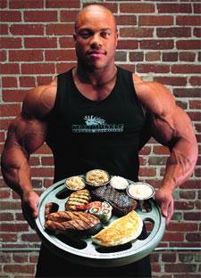 Phil Heath Diet Plan