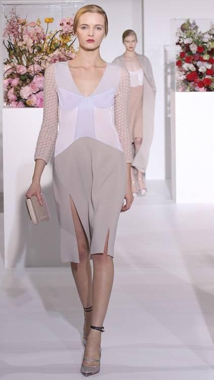 daria strokous jil sander milan fashion week