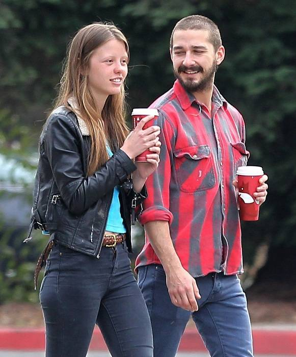 Shia LaBeouf Girlfriend Mia Goth