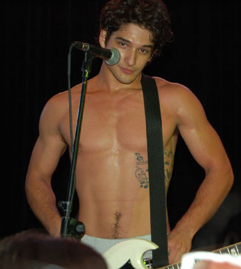 tyler posey shirtless body