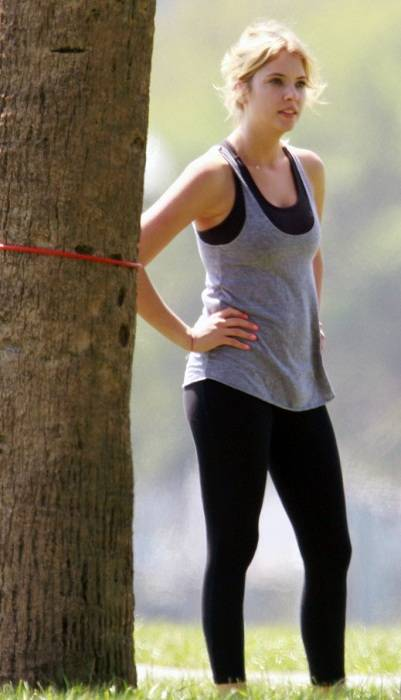 Ashley Benson Workout Routine