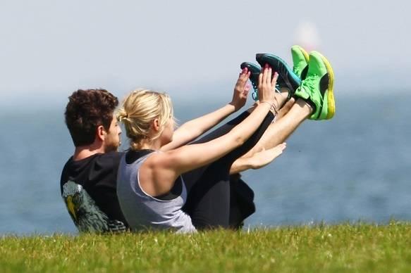 Ashley Benson Workout