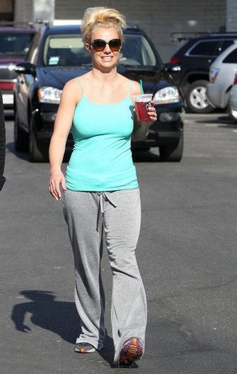 Britney Spears Workout Diet