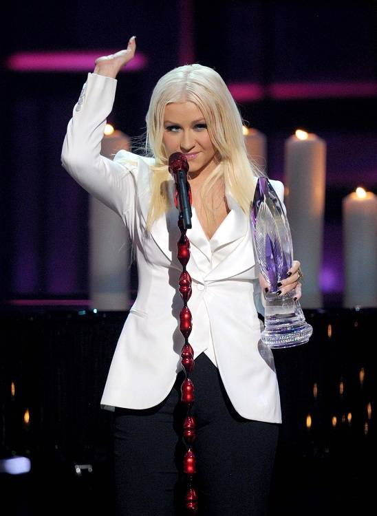 Christina Aguilera Workout