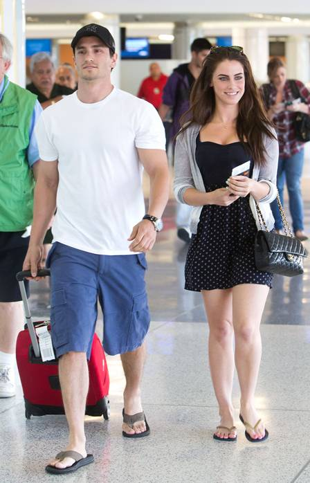 Jeremy Bloom and Jessica Lowndes