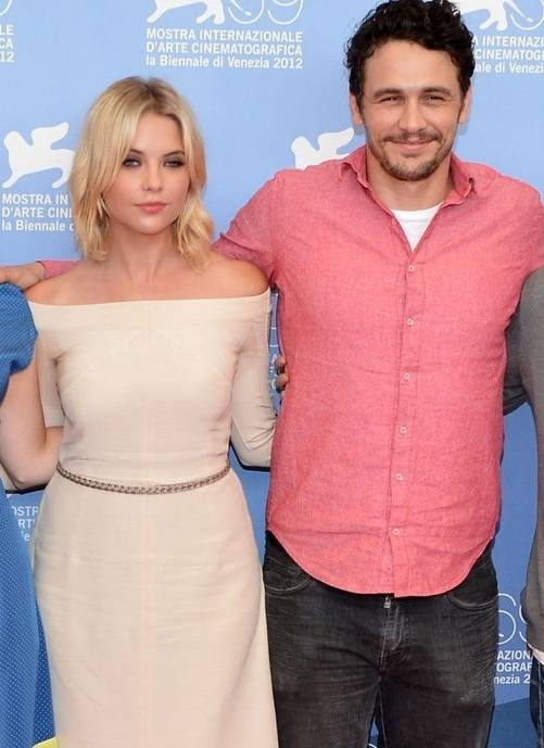 Ashley Benson with James Franco