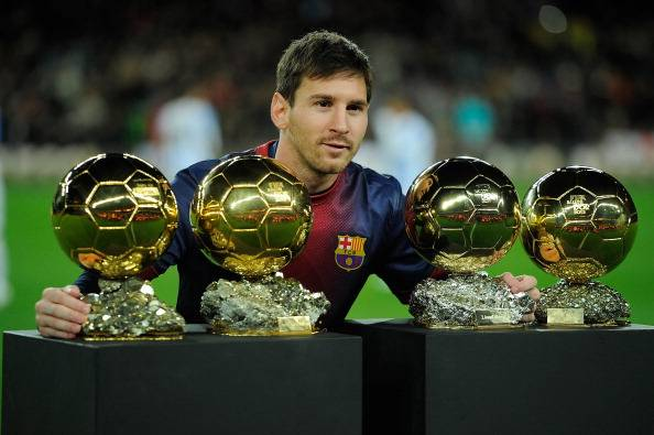 lionel messi golden balls