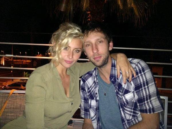 Aly Michalka and Joel David Moore