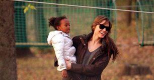 Angelina Jolie baby