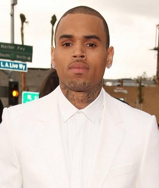 Chris Brown Eye Color