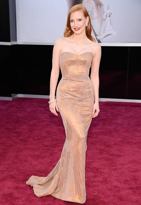 Jessica Chastain Svelte Figure
