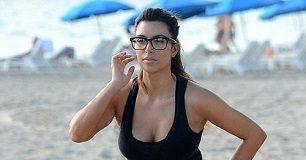 Kim Kardashian Weight Gain Exercise