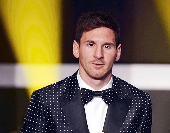 Lionel Messi Weight