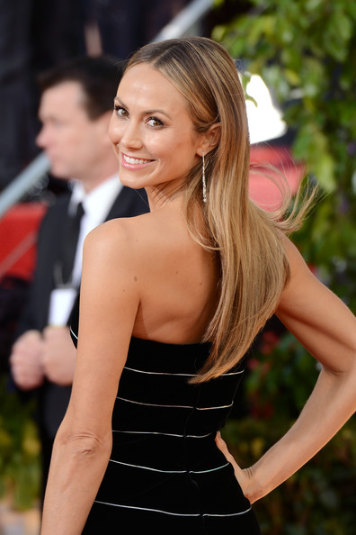 Stacy Keibler during Golden Globes Awards