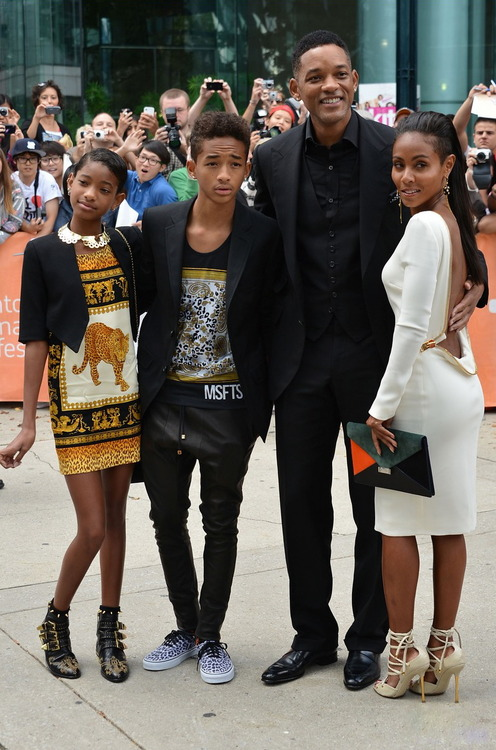 Will Smith Family 2013
