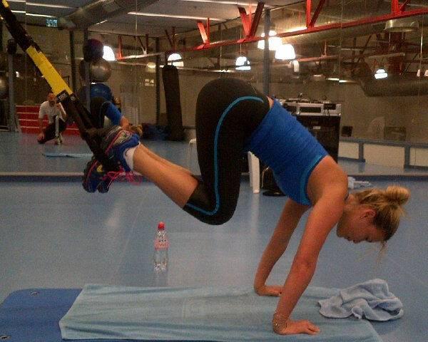 bar refaeli yoga workout