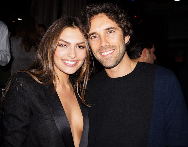 Alyssa Miller with boyfriend Bjorn Iooss