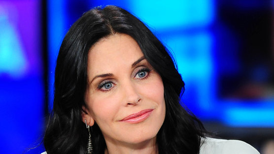 Courteney Cox Ellen Show