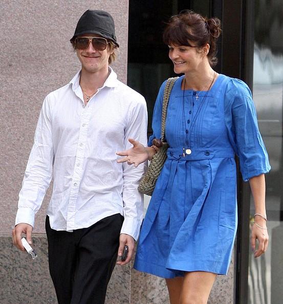 Helena Christensen and Paul Banks
