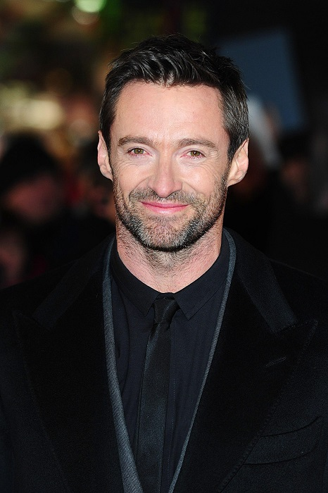 Hugh Jackman face closeup