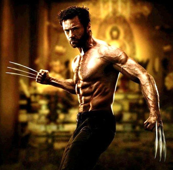 Hugh Jackman Wolverine Body 2013